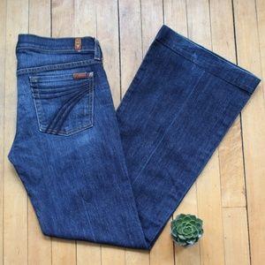 7FAM Dojo Trouser Jean Size 28